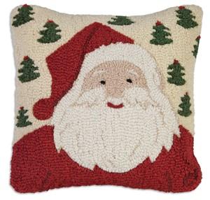santa and christmas pillows