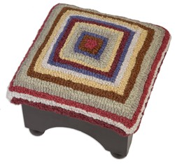 Picture of Bullseye Hooked Top Foot Stool DISCONTINUED