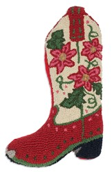 Picture of Poinsetta Cowboy Boot