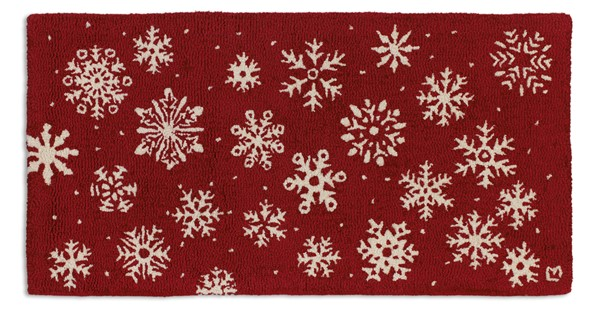 Picture of Frosty Flakes On Red