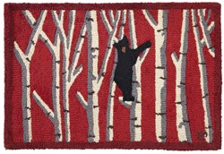 Picture of Bear in Birches