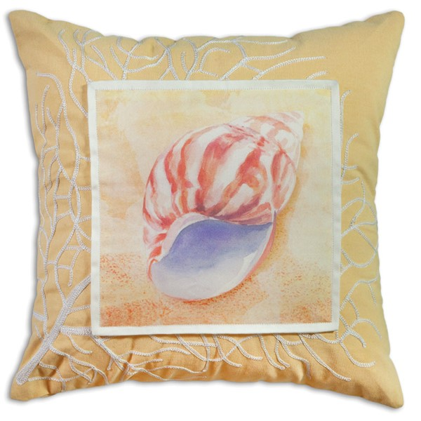 Picture of Sea Shell On Yellow