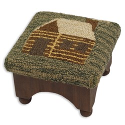 Picture of Cabin Hooked Top Foot Stool DISCONTINUED