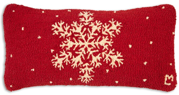 Picture of Snowflake on Red