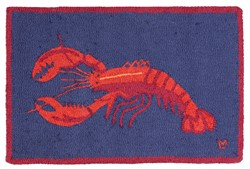 Picture of Lobster on Blue   DISCONTINUED
